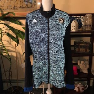 Adidas super nova Boston marathon jacket
